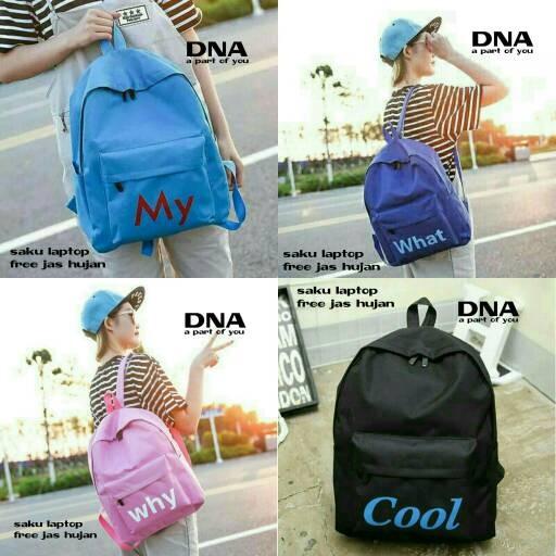 Foto Produk tas sekolah wanita murah backpack word grosir tas ransel dari Then4Shop
