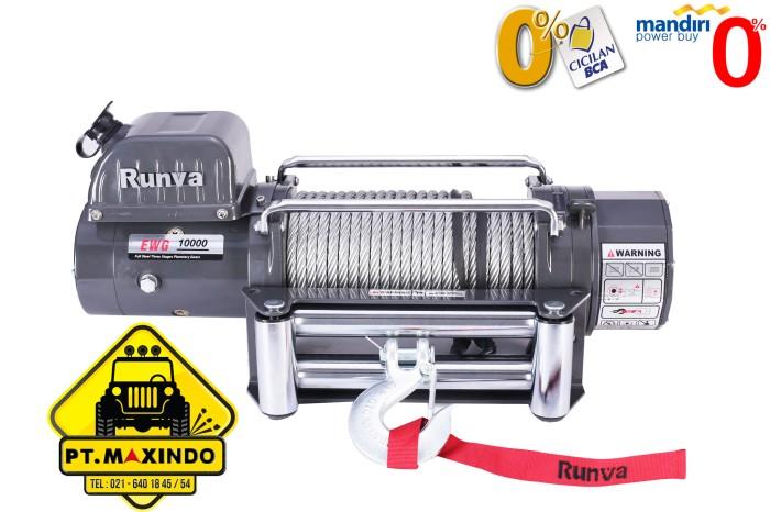 harga Runva electric winch ewg-10000 kapasitas 45 ton Tokopedia.com