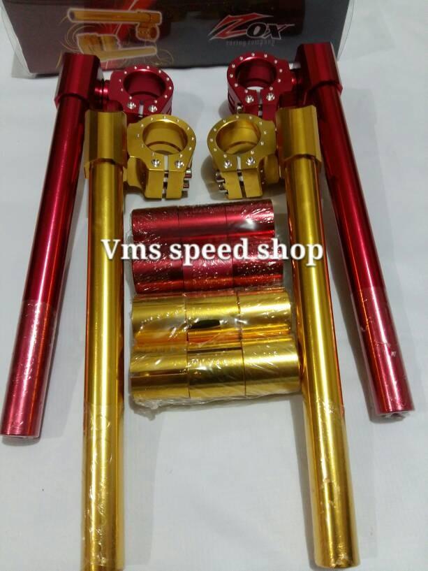harga Stang jepit vixion zox mdel x-race Tokopedia.com