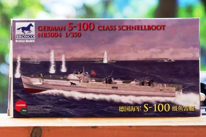Foto Produk Mokit Bronco 1/350 S-100 Torpedo boat dari rumahmokit