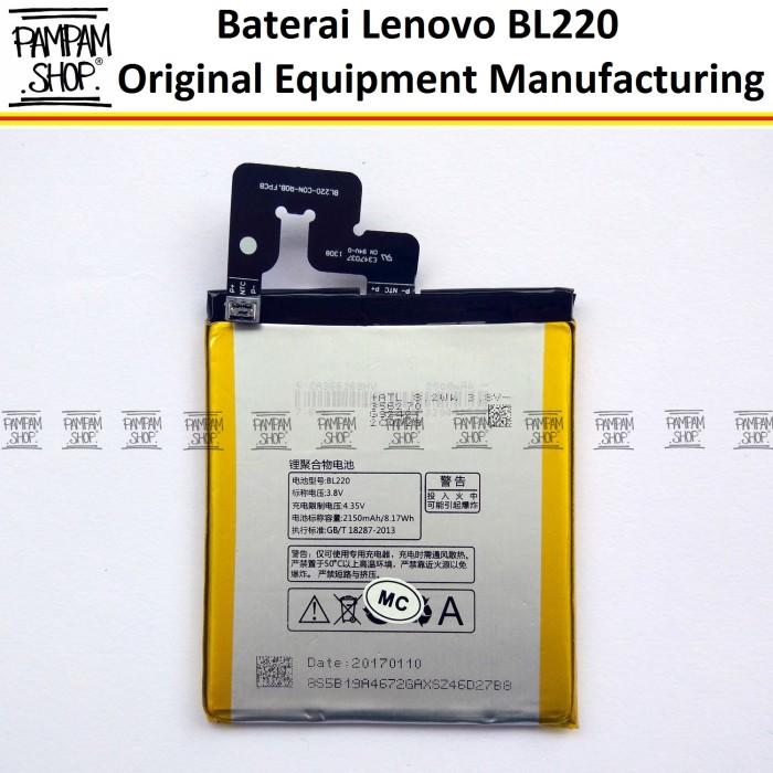 harga Baterai handphone lenovo bl220 s850 original batre batrai bl 220 s 850 Tokopedia.com