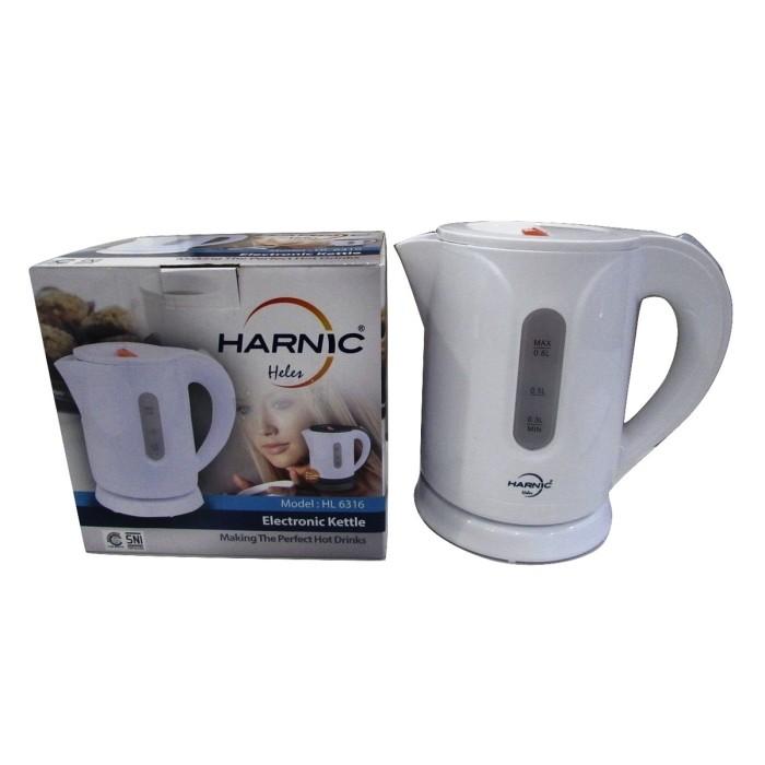 harga Kettle - teko listrik - pemanas air listrik 600 watt - heles hl 6316 Tokopedia.com