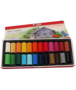 harga Titi soft pastels 24 colour set hair chalk cat rambut color pastel Tokopedia.com