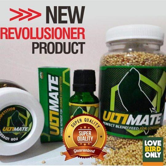 harga Paket pakan dan vitamin ultimate lovebird lomba doping burung Tokopedia.com