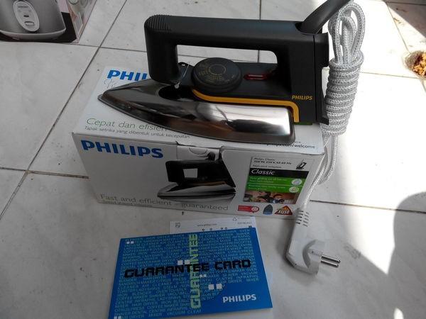 Setrika PHILIPS HD 1172 Black / Hitam (HOT Promo)
