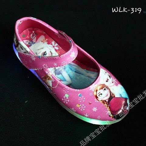 harga Sepatu anak import / sepatu lampu anak / sepatu anak led frozen Tokopedia.com