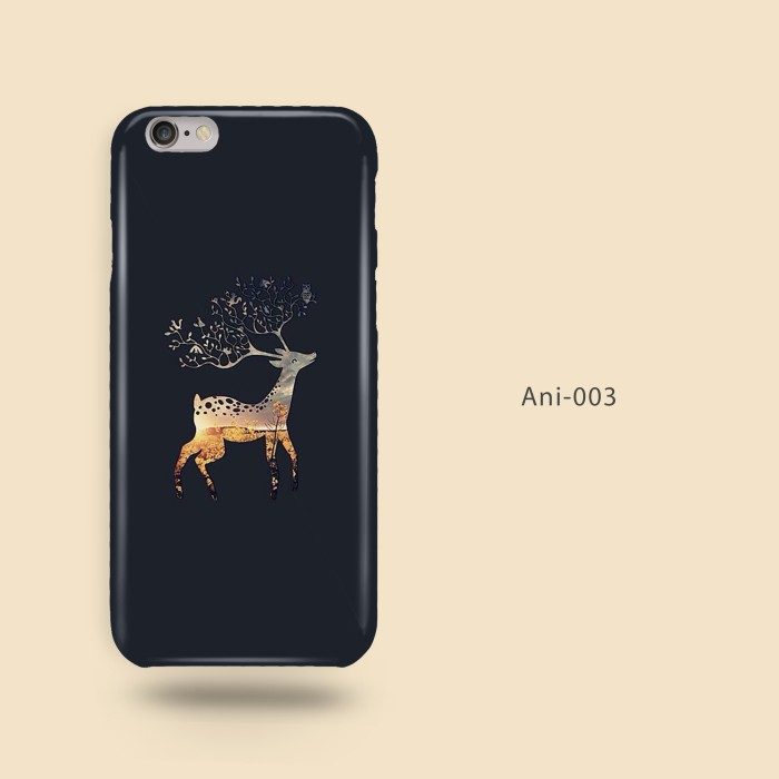 harga Custom case casing animal 03 deer rusa  iphone samsung xiaomi oppo Tokopedia.com