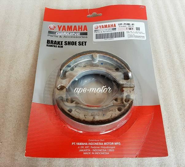 harga Kampas rem belakang f1z / jupiter z old 5tp-f530k-01 original yamaha Tokopedia.com