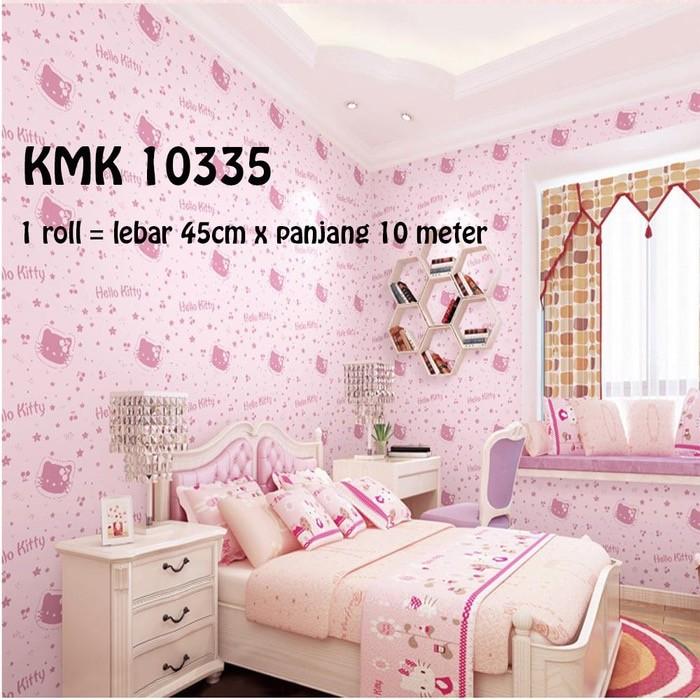 Jual Wallpaper Stiker 45cm X 10m Hello Kitty Dki Jakarta