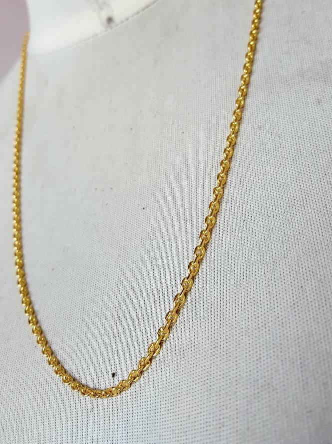 harga Kalung rantai nori lapis emas ukuran besar Tokopedia.com