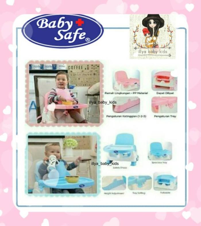 Booster Seat Baby Safe | Bangku untuk makan baby - Pink
