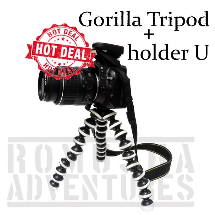 harga Mini tripod lentur/flexible bisa di gantung untuk hp/kamera Tokopedia.com