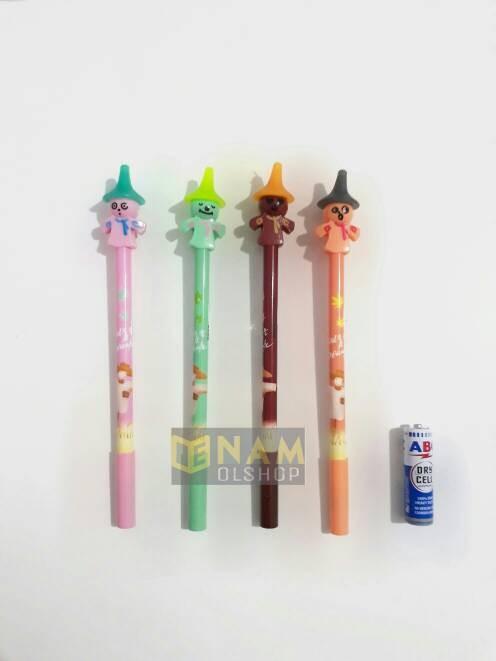 harga Pulpen gel boneka sawah Tokopedia.com