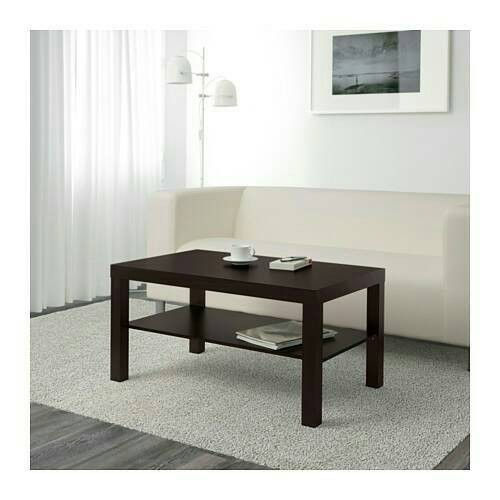 Ikea Lack Meja Ruang Tamu 90x55 Cm