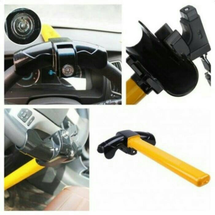 harga Kunci stir mobil / pengaman stir / gembok stir Tokopedia.com