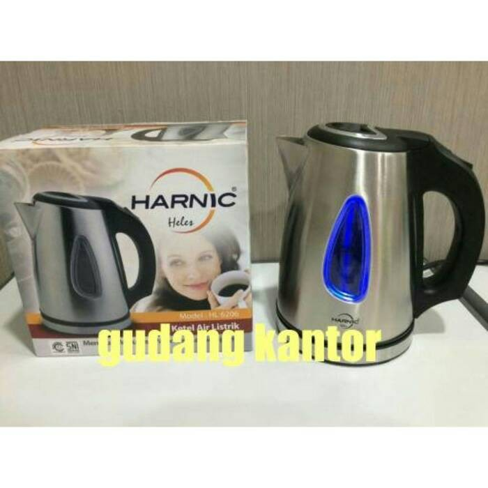 harga Harnic heles hl6206 - kettel/teko pemanas air 6206 Tokopedia.com
