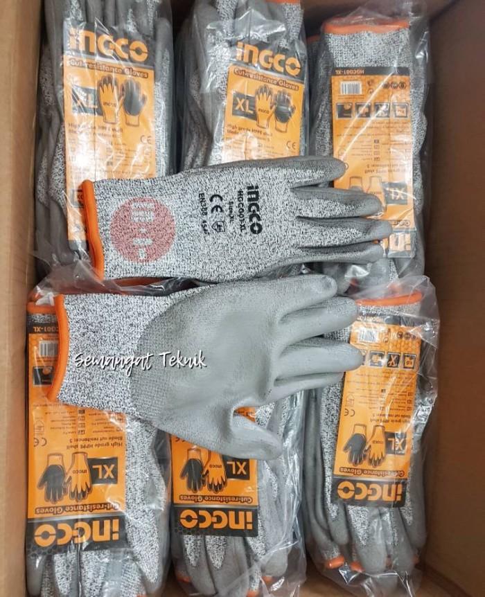 harga Sarung tangan pengaman anti potong cut resistance gloves ingco Tokopedia.com