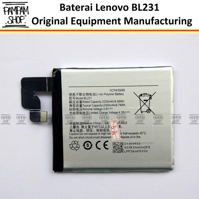 harga Baterai handphone lenovo bl231 vibe x2 original batre batrai bl 231 Tokopedia.com
