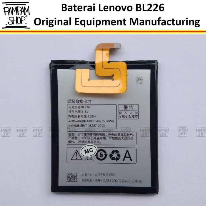 harga Baterai handphone lenovo bl226 s860 original batre batrai bl 226 s 860 Tokopedia.com