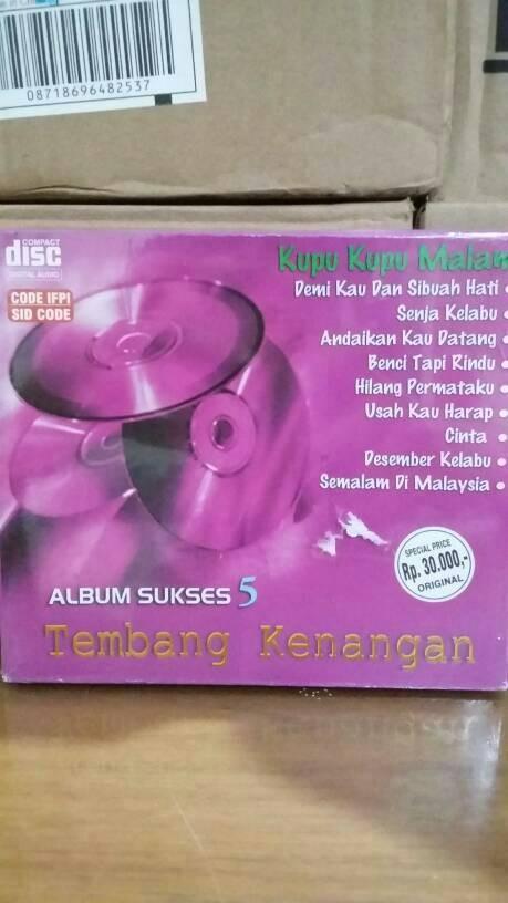 Cd original various artists - album sukses tembang kenangan vol. 5