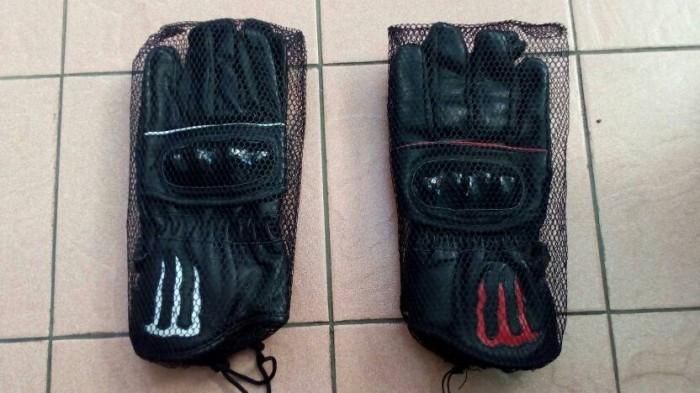 harga Sarung tangan kulit asli aksesoris pengendara motor Tokopedia.com