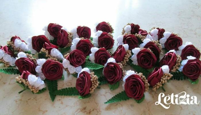 harga Bros bunga saku jas pengantin boutonniere wedding korsase groom Tokopedia.com