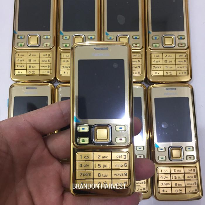 Nokia 6300 (gold) original garansi 1 bulan