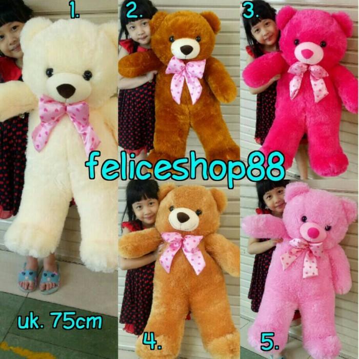 Boneka Beruang Teddy Bear Super Besar 100cm Termurah Ready Stock ... 3816c54b24