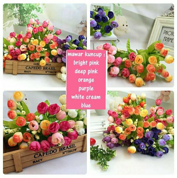 Jual bunga plastik murah bunga dekorasi - toko bunga kecil  7a990403e5