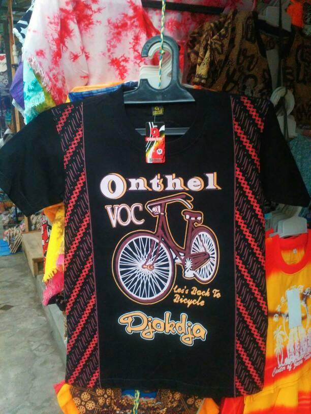 harga Kaos batik sepeda onthel jawa bahan katun - baju couple remaja dewasa Tokopedia.com