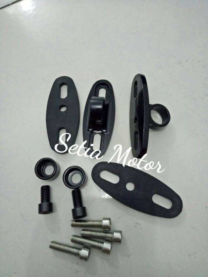 harga Dudukan spion tomok fairing - universal ninja250 - r25 - cbr 150 - 250 Tokopedia.com