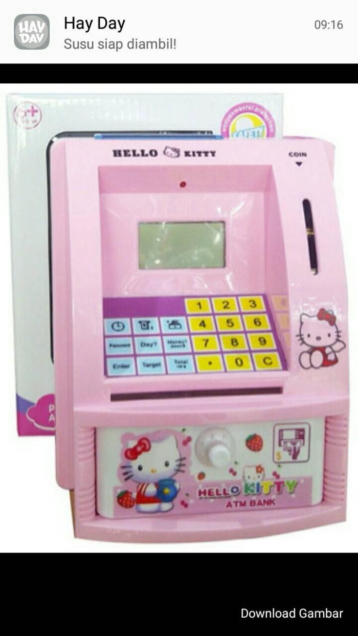 Jual Celengan ATM Bank Hello Kitty Kota Tangerang Alika DheeGan Shop