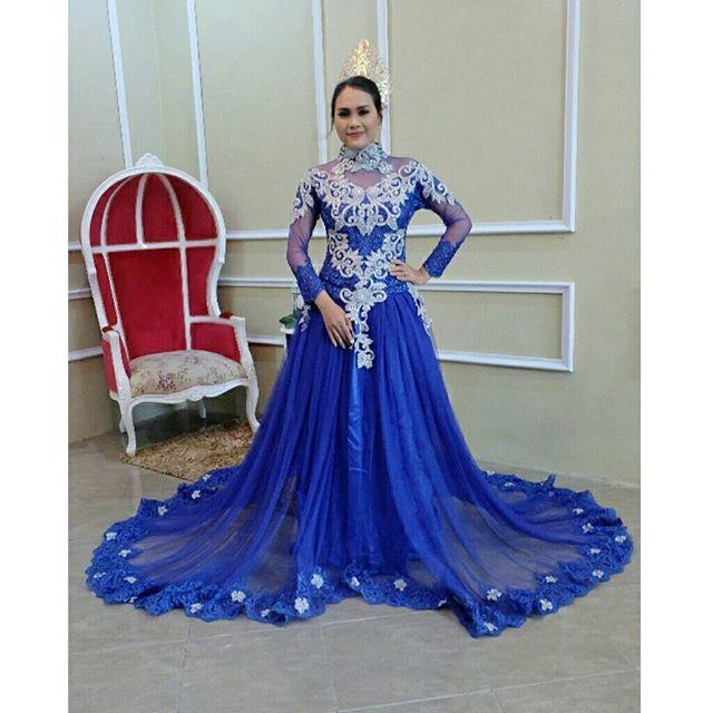 Jual Kebaya Pengantin Modern Gaun Pernikahan Nasional Baju Pernikahan Kota Surakarta Kebaya Modern Murah Tokopedia