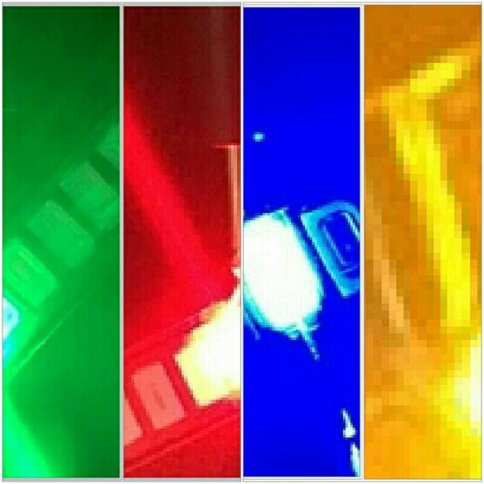Led Smd 5730 Campur Warna Merah Hijau Biru Kuning 100pcs