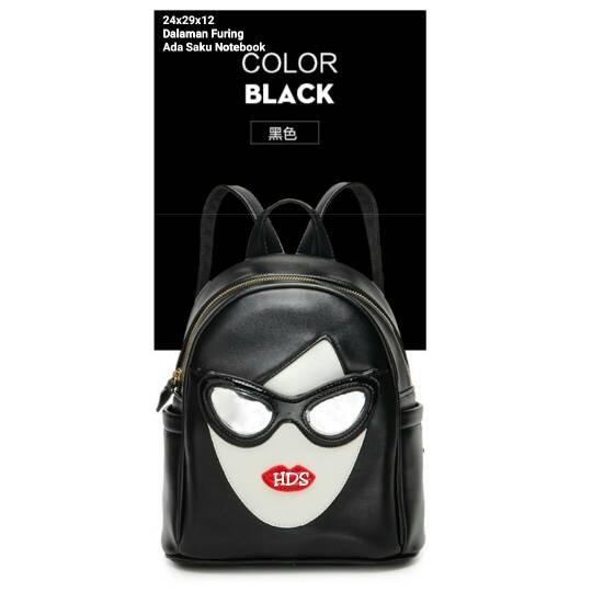 Foto Produk tas fashion wanita murah backpack pramugari grosir tas ransel dari Then4Shop