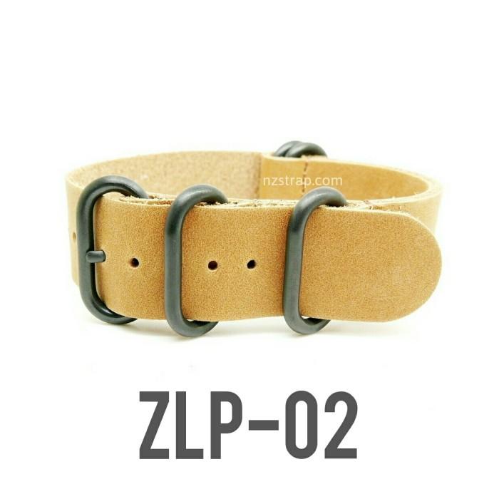 harga [zlp-02 size 24mm] leather zulu strap watch tali jam tangan kulit Tokopedia.com