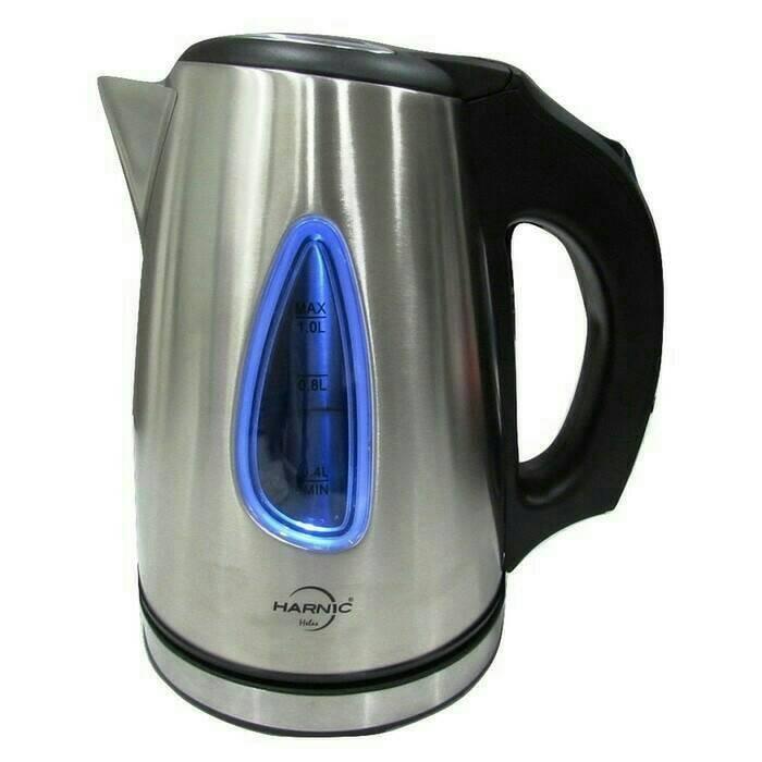 harga Harnic heles hl-6206 body stainless - teko listrik/kettle pemanas air Tokopedia.com