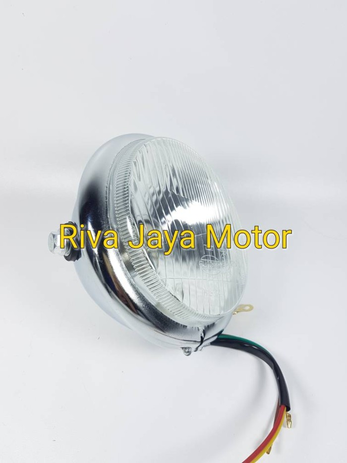 harga Reflektor lampu depan autopal h4 cb tiger revo vixion byson megapro Tokopedia.com