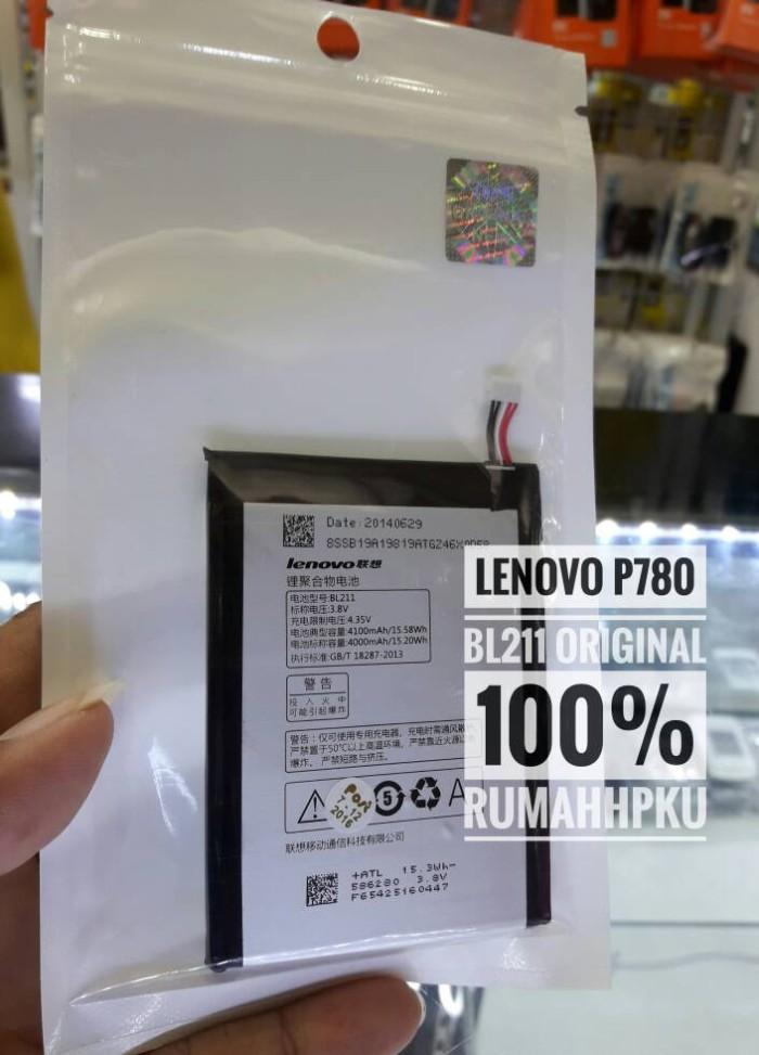 harga Baterai batre lenovo p780 bl211 original 100% Tokopedia.com