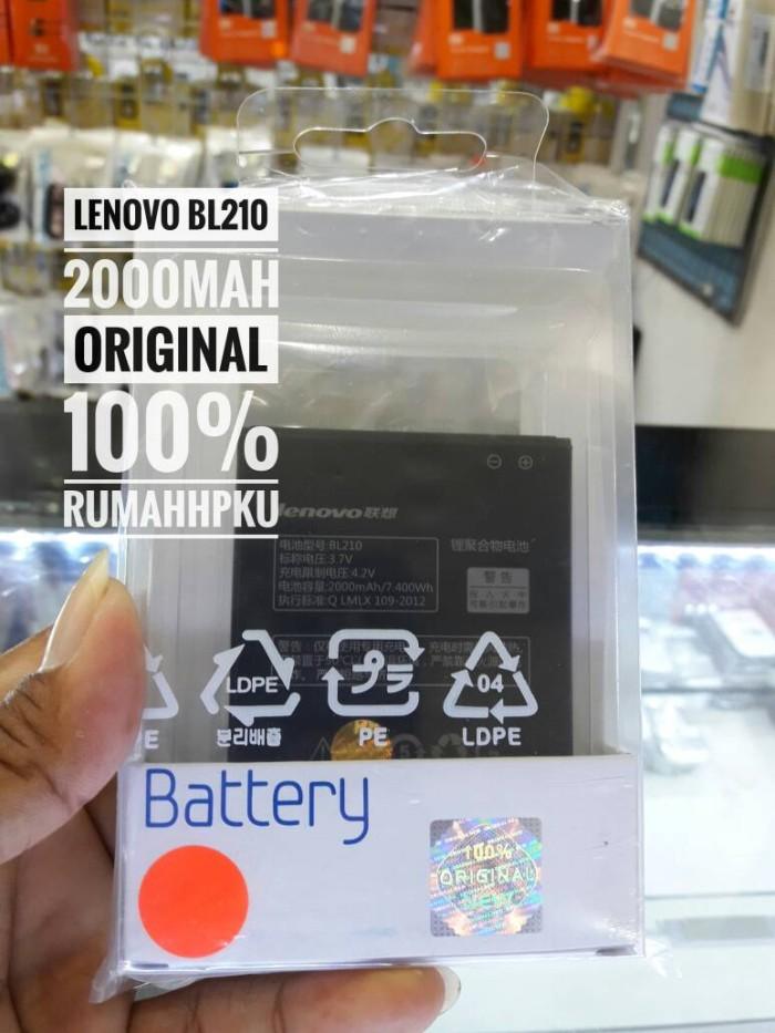 Baterai lenovo bl210 s820 s650 a766 a650 original 100% ...
