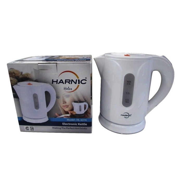 harga Harnic-heles Kettle / Teko Listrik / Pemanas Air Listrik-hl 6316 Tokopedia.com