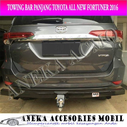 harga Bumper towing bar belakang toyota all new fortuner 2016 Tokopedia.com