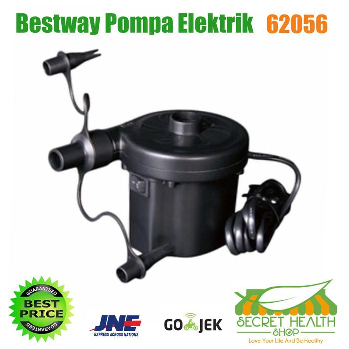 harga Bestway pompa elektrik electric air pump kolam renang pelampung kasur Tokopedia.com
