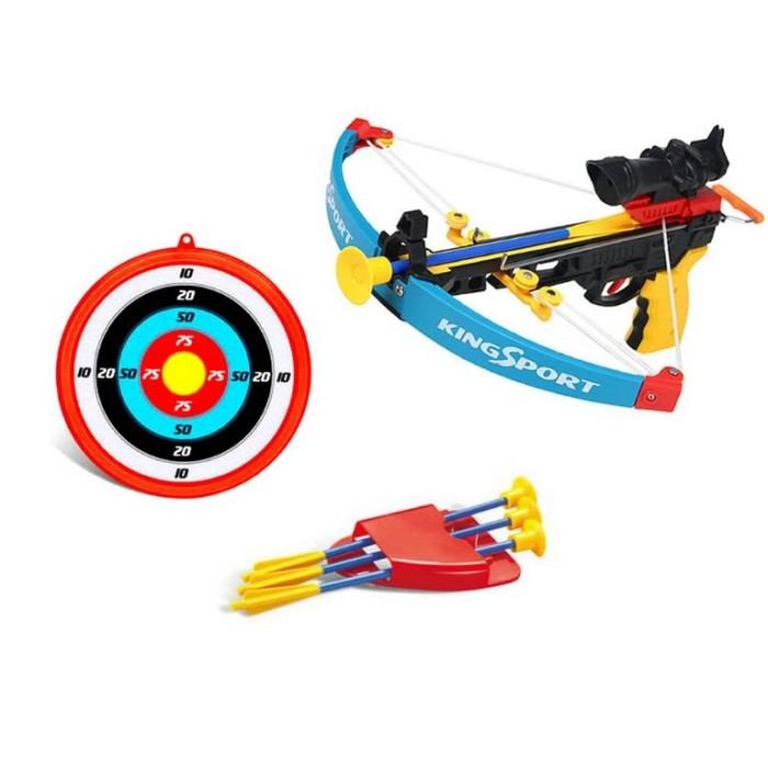 harga Mainan anak laki laki - crossbow set memanah panah panahan tembakan Tokopedia.com