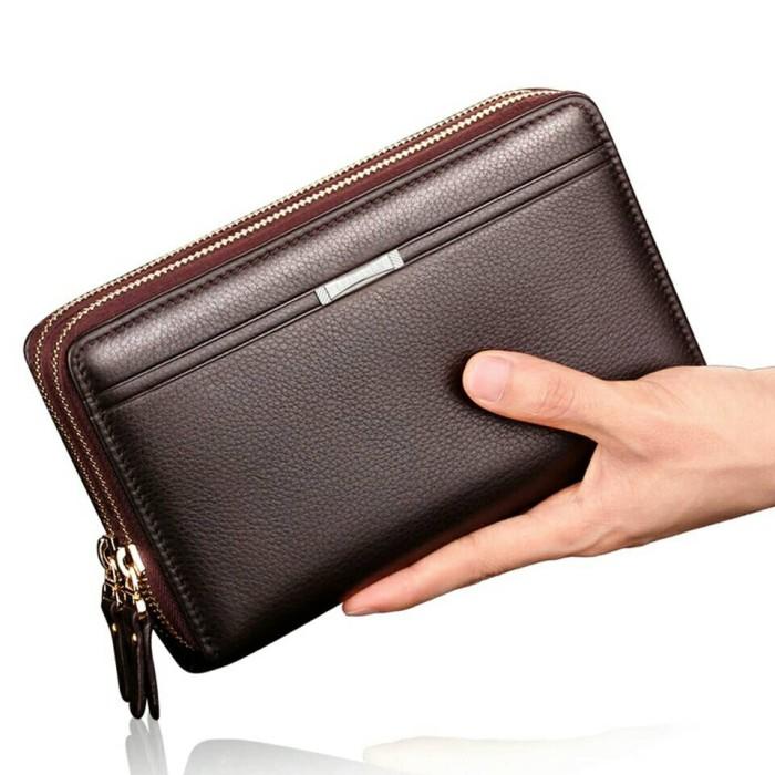 Jual Murah Baellerry Double Zipper Dompet Clutch Handbag Tas Tangan ... 621c11ce98