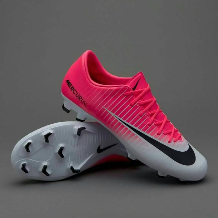 ... spain sepatu bola nike mercurial victory vi fg motion blur white pink  3f1f5 ad935 c96b35dee5