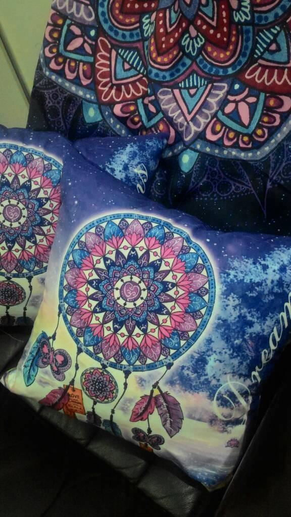 Jual Bantal Mandala Dreamcatcher Kota Surabaya Cahaya Pelangi 88 Tokopedia