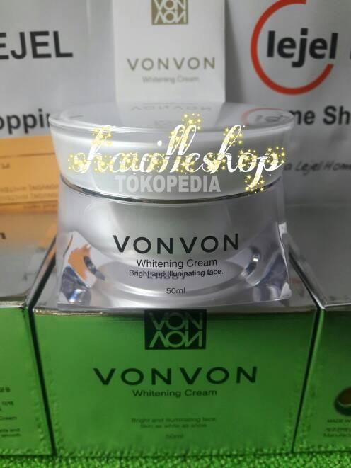 harga Vonvon dark spot remover & whitening cream original lejel / von von Tokopedia.com