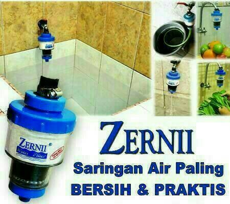 Filter Air Zernii, Saringan Serba Guna Rumah Tangga Batam
