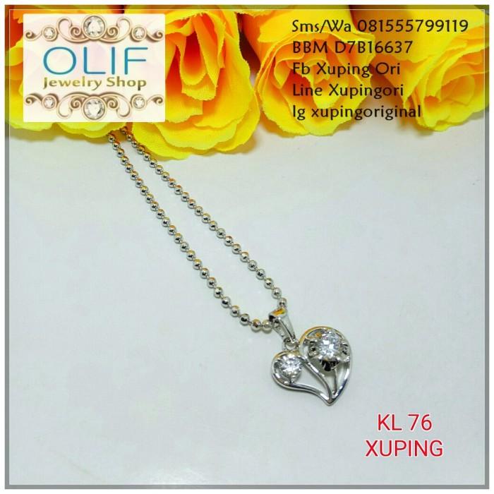 Jual Kalung Emas Putih Xuping Asli Kl076 Madiun Olif Jewelry Tokopedia